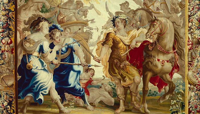 César en la guerra de las Galias