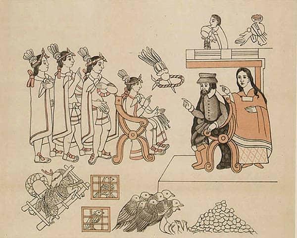 Tenochtitlan. Tierra del nopal. Entrada de Hernan Cortes, la cual se verifico el 8 de Noviembre de 1519