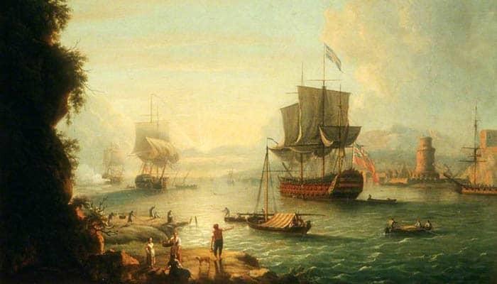 Un puerto mediterráneo
