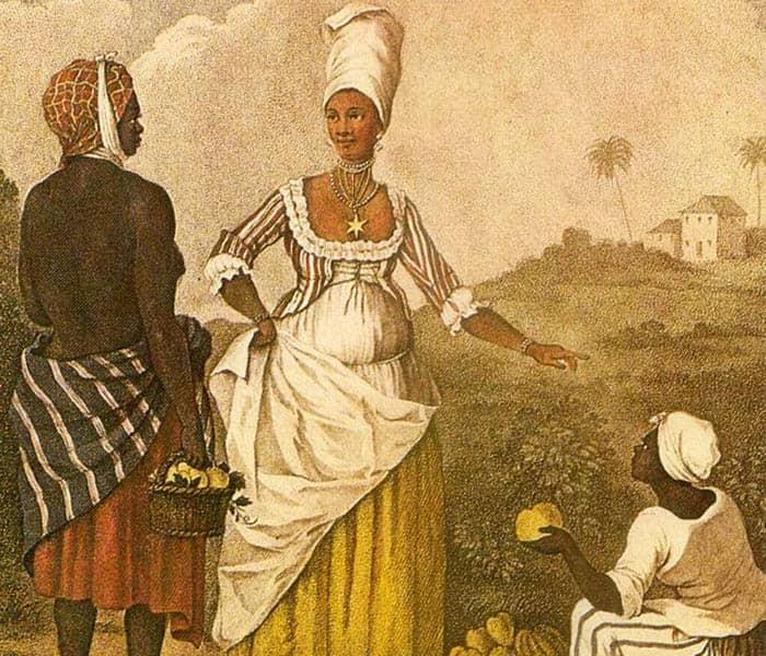 La chica mulata de Barbados