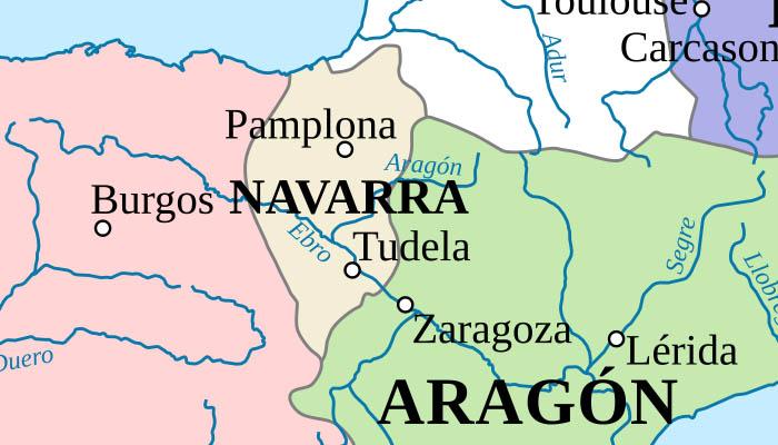 Mapa del Reino de Navarra