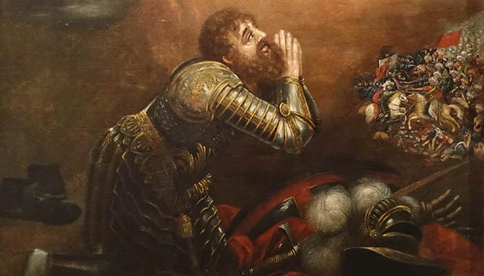 Visión de D. Alfonso Enríquez en la batalla de Ourique