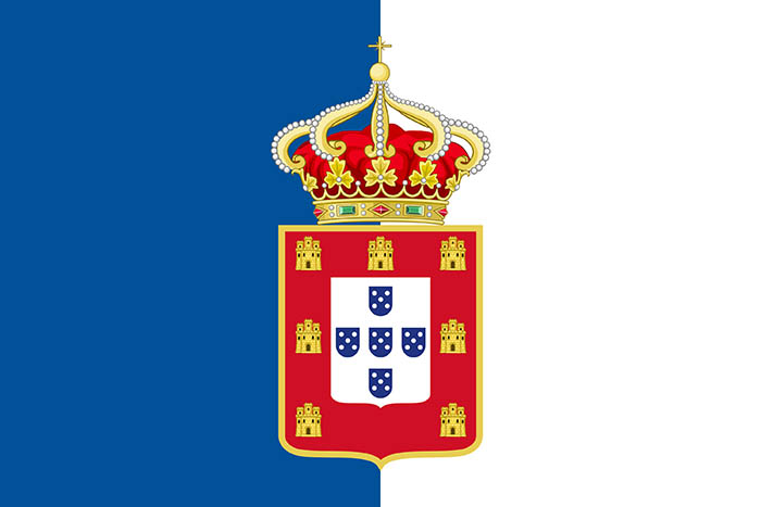 Bandera del Reino de Portugal