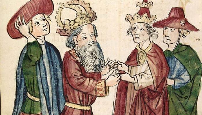 Encuentro entre Otón I y Juan XII