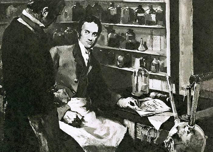Ilustración de Michael Faraday