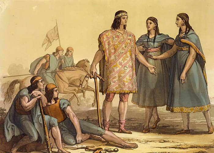 Indígenas de la historia de Argentina