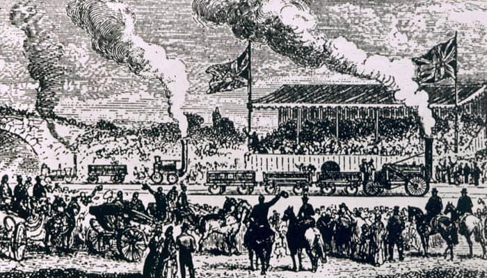 Historia de la locomotora de vapor
