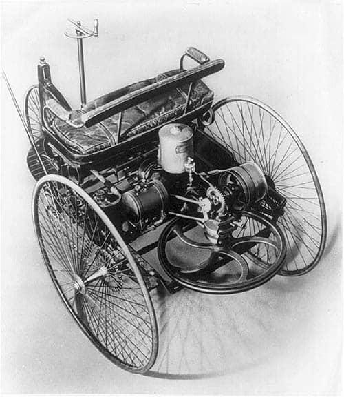 Vehículo de tres ruedas de Benz