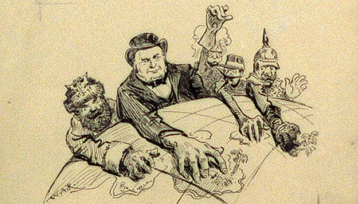 Caricatura del imperialismo