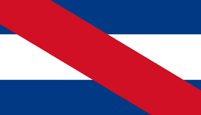 Bandera del Partido Federal de Argentina