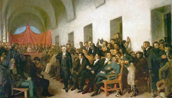 El cabildo abierto del 22 de mayo de 1810