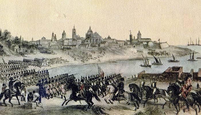 Ataque por los ingleses a Buenos Aires