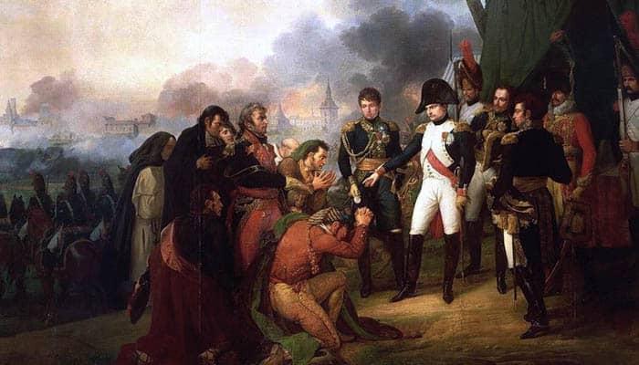 Napoleón a las puertas de Madrid
