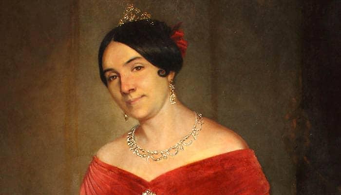 Retrato de Manuelita Rosas