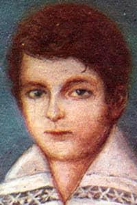 Retrato de Juan Manuel de Rosas durante su infancia