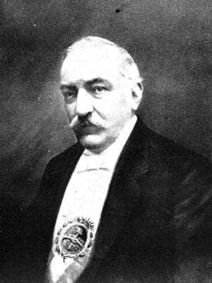 Retrato del presidente Roque Sáenz Peña