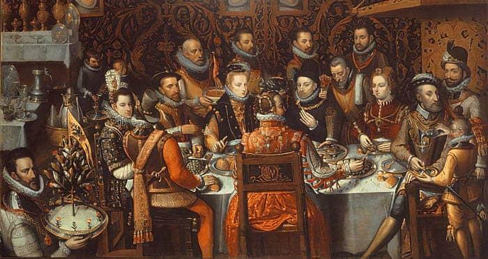 El banquete de los monarcas