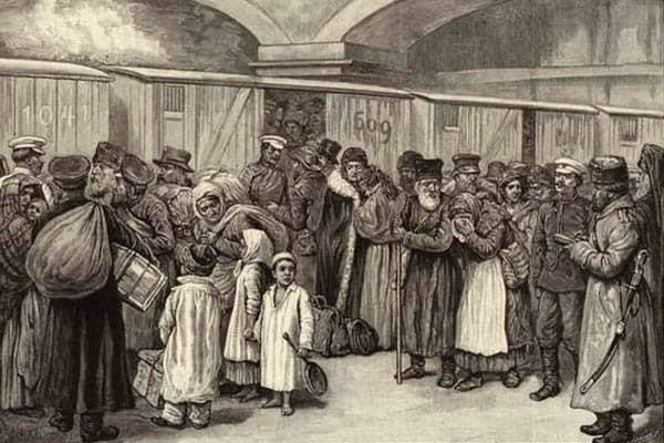 Expulsión de los judíos de San Petersburgo