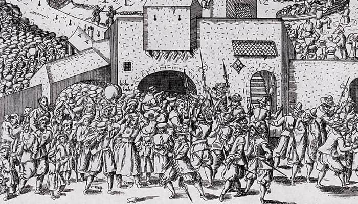 Expulsión de los judíos de Fráncfort