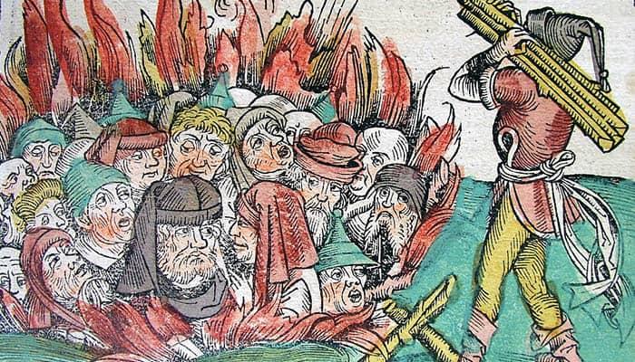 Quema de los judíos en Deggendorf