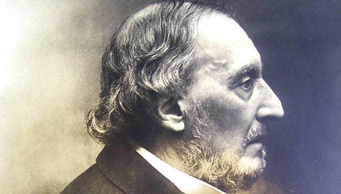 Fotografía de Bartolomé Mitre durante sus últimos años de vida