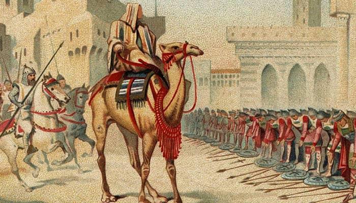 Ilustración de Umar ibn al-Jattab