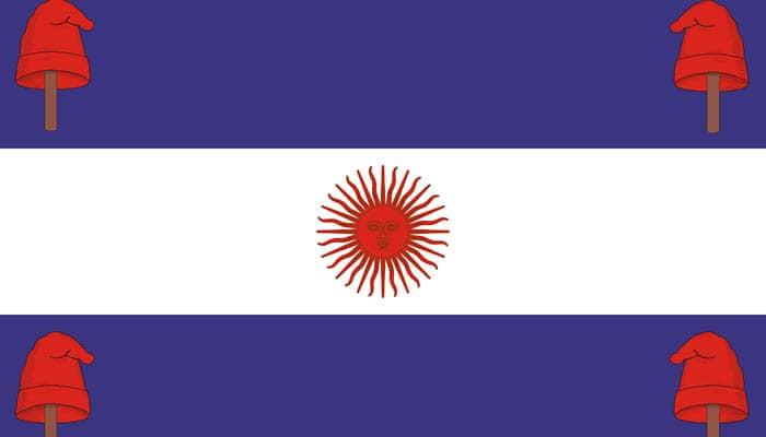 Bandera de la Confederación Argentina