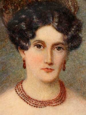 Retrato de María Saturnina Bárbara de Otárola del Ribero