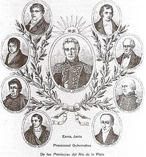 Cornelio Saavedra, presidente de la Primera Junta