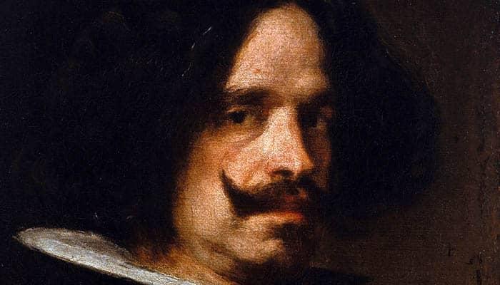 Autorretrato, pintura al óleo de Diego Velázquez