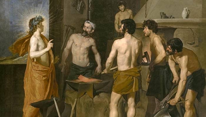 La fragua de Vulcano, de Diego Velázquez