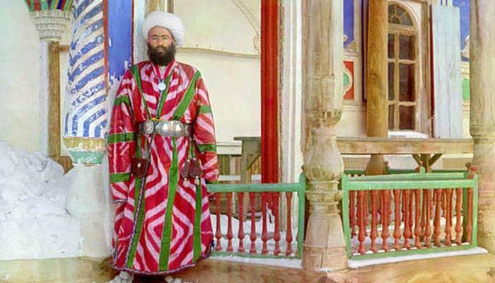 Ministro del antiguo emirato de Bujará