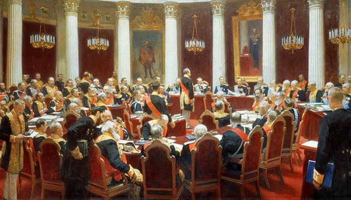 La sesión ceremonial del Consejo de Estado