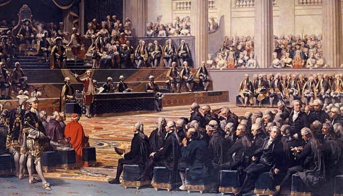 Apertura de los Estados Generales en Versalles