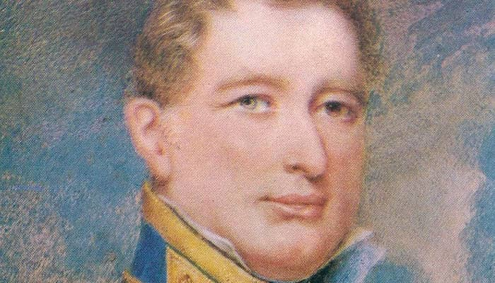 Retrato del almirante Guillermo Brown