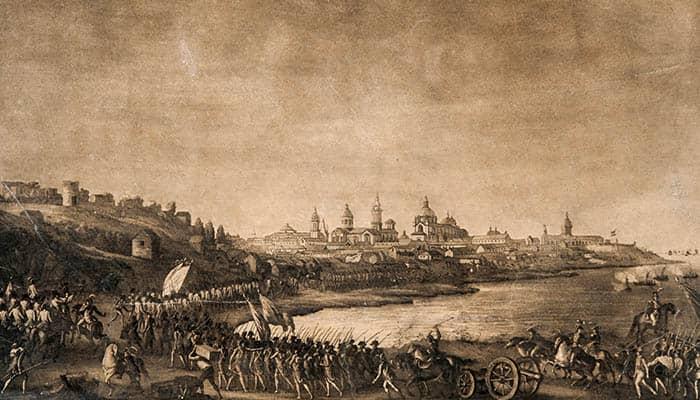 Los ingleses atacan a Buenos Ayres y son rechazados
