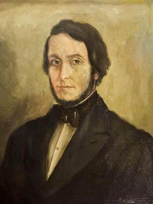 Retrato de Juan Bautista Alberdi