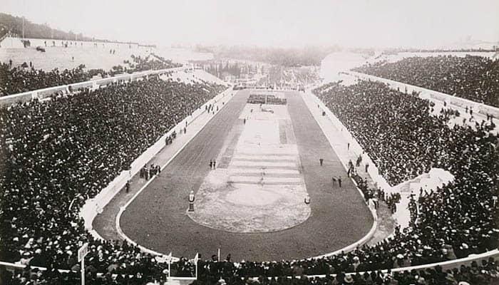 Fotografía de los Juegos Olímpicos de Atenas de 1896