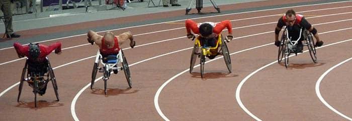 Competición en los Juegos Paralímpicos de Londres de 2012