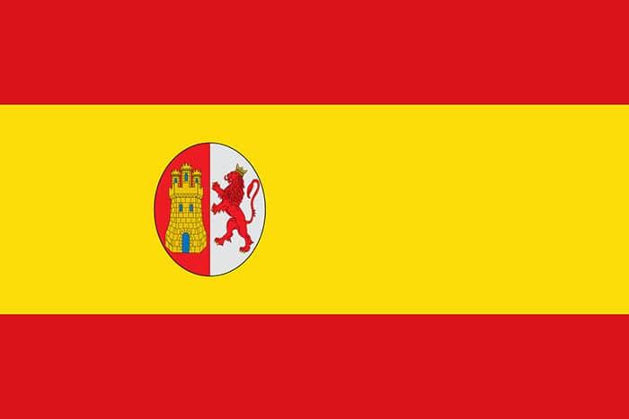 Bandera de España durante la Primera República Española