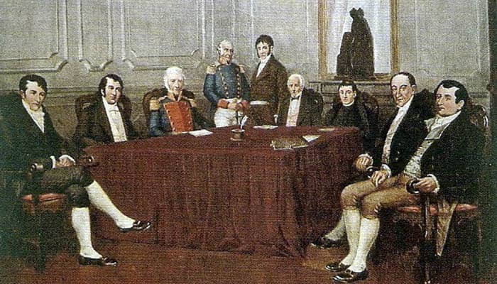 Primera Junta en la Revolución de Mayo