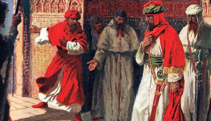 El último concilio de Boabdil en la Alhambra, 1492