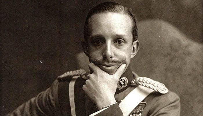 Fotografía de Alfonso XIII