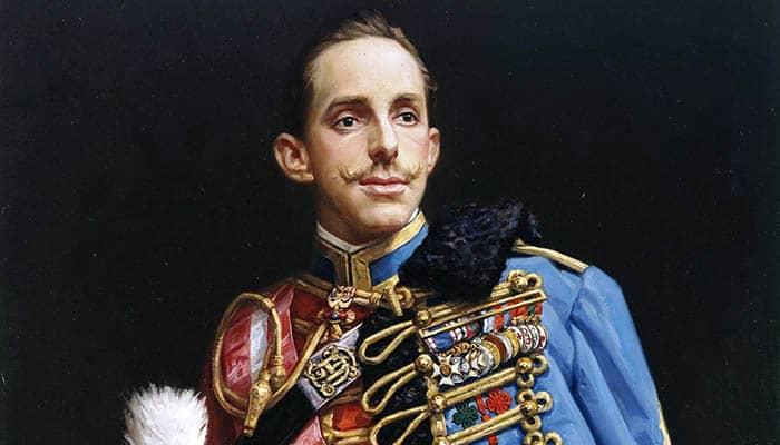 El rey Alfonso XIII de España