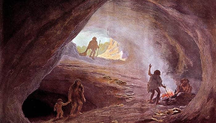 Cavernas durante el período glacial