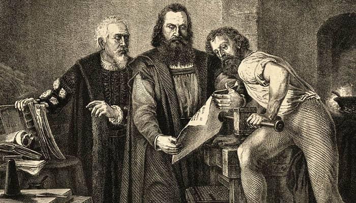 Johann Fust, Johannes Gutenberg y Peter Schöffer