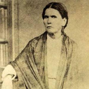 Fotografía de María Petrona Mori, madre de Porfirio Díaz