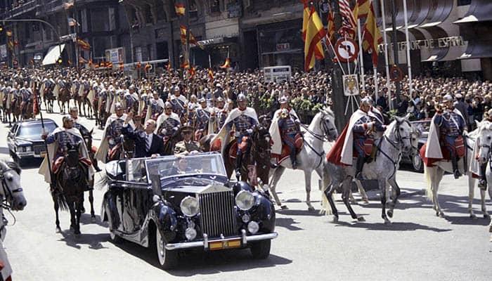 Gerald R. Ford y Francisco Franco en la etapa final de la dictadura