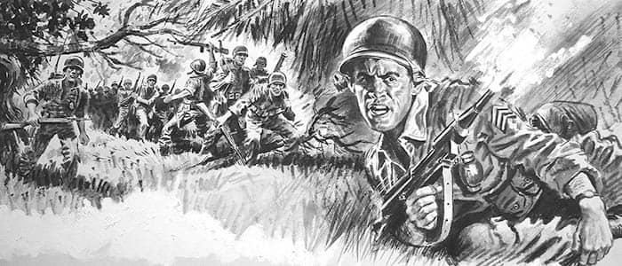 Emboscada del Viet Cong a los soldados estadounidenses
