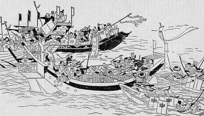 Intento de invasión de Japón por parte del Imperio mongol en el año 1281